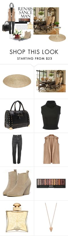 """""""Untitled #375"""" by debysilviaa ❤ liked on Polyvore featuring Brandon Maxwell, Vetements, Hermès, Pamela Love and Boskke"""