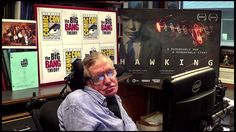 Stephen Hawking Introduces THE BIG BANG THEORY Panel at Comic-Con 2013 #WBSDCC