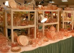 """Armoire de Collage: The History of American Glass at the 2013 """"Vintage Glass & Antique Show & Sale"""""""