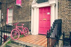 (pink) painted Door of Dublin!