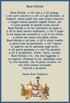 Francesca Ceccherini: testi e immagini di psicologia, sociale, religione, poesia, narrativa: BUON NATALE Merry Christmas And Happy New Year, Christmas Love, Christmas Carol, Old Cards, Xmas Cards, Learn To Speak Italian, Advent, Homemade Christmas Decorations, Learning Italian
