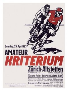 Kriterium Bicycle Race Giclee Print at AllPosters.com