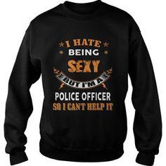 POLICE OFFICER TSHIRT HOODIE SWEAT