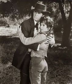 SUPPORT YOUR LOCAL GUNFIGHTER - James Garner & Suzanne Pleshette - Directed by Burt Kennedy - United Artists - Publicity Still.