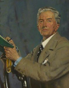 Paul Waterhouse (1861–1924), PRIBA c.1923 by William Orpen (1878-1931)