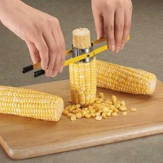 And this corn on the cob peeler that may be the best invention of all time. | 21 Slicers, Peelers, And Corers You Never Knew You Needed