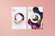 Art direction for Bethel's annual School of Creativity conference. Design inspired by the work of Eiko Ojala.