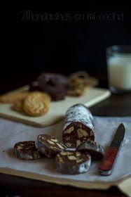 2Mandarinas en mi cocina: #díadeltrampantojo. Salchichón de chocolate y mi caja Degustabox