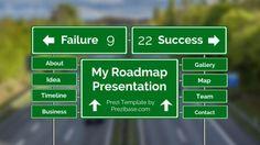 My Roadmap – Prezi Template   ShareTemplates