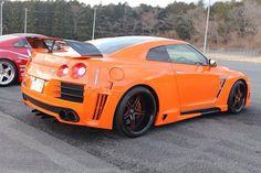Wide body GTR , orange?