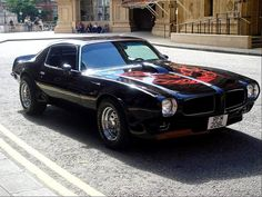 Early '70's Trans Am.