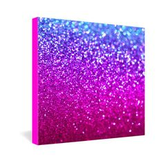 GLITTER CANVAS, YES!