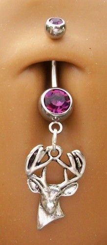 Deer Belly Ring