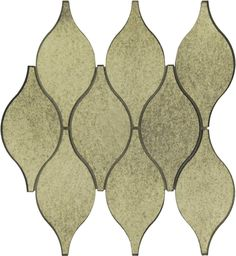 Sample of Soft Harmony Feathers Antique Mirror Tile Antique Mirror Tiles, Mirror Ceiling, Tile Installation, Animal Print Rug, Antiques, Feathers, Grout, Coupon, Mesh