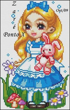 Cross Stitch Alphabet Patterns, Cat Cross Stitches, Cross Stitch Designs, Cross Stitching, Cross Stitch Embroidery, Crochet Baby Toys, Easy Paper Crafts, Sewing Art, Fuse Beads