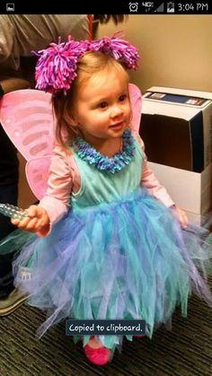 Homemade Abby Cadabby Halloween costume