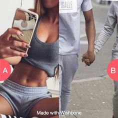 WYR: Be Body goals or Couple goals? Click here to vote @ http://wishbone.io/wyr:-be-body-goals-or-couple-goals?-54048425.html