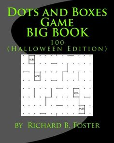Activity Games, Book Activities, Date, Connect The Dots Game, Dots And Boxes, Barnes And Noble Books, Puzzle Books, Happy Halloween, The Fosters