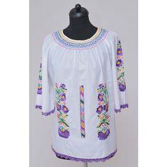 Hímzett női blúz-matyó Blouse, Long Sleeve, Sleeves, Tops, Women, Fashion, Moda, Long Dress Patterns, Fashion Styles