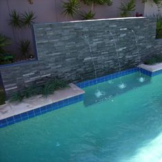 Stack Stone Midnight is widely used in indoors as well as in outdoor areas.Water features made easily by stacked stone panels.