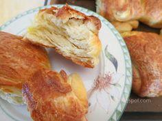 Ζουζουνομαγειρέματα: Τυρόπιτες πακετάκια με σπιτική σφολιάτα μαγιάς! French Toast, Breakfast, Blog, Breakfast Cafe