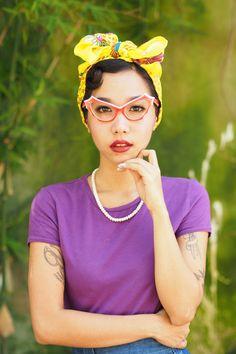 A personal favorite from my Etsy shop https://www.etsy.com/listing/253039732/vintage-eyeglasses-cat-eye-frames