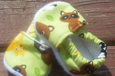 Animal Friends Nonslip Soft Soled Baby Shoes by CrazyLeggies, $15.00