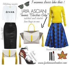 Iaya Asciani Made in Italy bags  twin bag