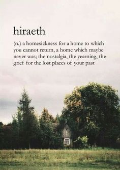 Hiraeth. For all those who feel this chaos, may find the answer in their reincarnated soul.