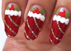 50 Fotos de uñas navideñas – Christmas Nails | Decoración de Uñas - Manicura y NailArt