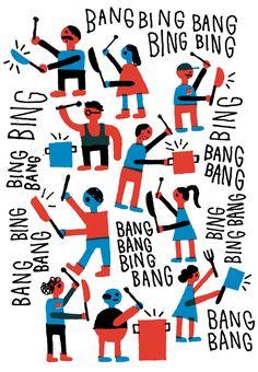 Bing Bing Bang Bing - Ben Tardif / ILLUSTRATION