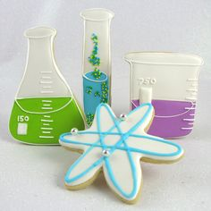 $20 Chemistry cookie cutters from Fancy Flours!!!!  How geeky!!  I love it!!
