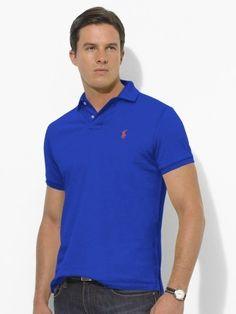 06d96b43e88 Classic-fit royal blue polo from Ralph Lauren Cheap Ralph Lauren Polo