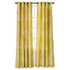 target threshold paisley curtains - yellow, for the Dining room