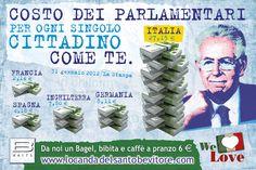 """B White: 7 giugno, Summer Opening Party  Costo del Parlamento per ogni singolo cittadino come te. """"La Casta"""" by B White Novi Ligure - www.locandadelsantobevitore.com"""
