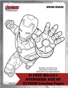Marvel's AVENGERS: AGE OF ULTRON Free Coloring Pages