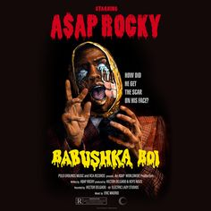 'Babushka boi' Poster by HipHopDesignz Bedroom Wall Collage, Photo Wall Collage, Bedroom Pics, Picture Wall, Rap Albums, Music Albums, Rap Album Covers, Pretty Flacko, A$ap Rocky