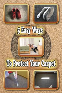 This Is How You Can Protect Your Carpet
