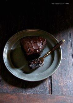 dark chocolate Baileys mud cake | une gamine dans la cuisine