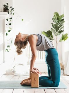 The most versatile yoga prop: a block or brick! Our personal favorite are those made of cork as they provide good grip (no slipping! Yoga Blanket, Yoga Props, Yoga Strap, Yoga Equipment, Yoga Block, Yoga Accessories, Yoga Routine, Oak Tree, Best Yoga