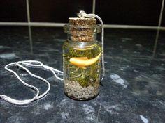 Fish Bottle Necklace 7 by DeeRaaArts on Etsy, £12.00