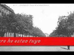 """Jota """"S'ha feito de nuey"""" (""""Se ha hecho de noche"""") de Hecho (Huesca) con fotos antiguas de Zaragoza"""