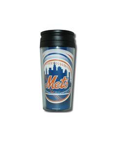 Hunter Manufacturing New York Mets 16 oz. Travel Tumbler