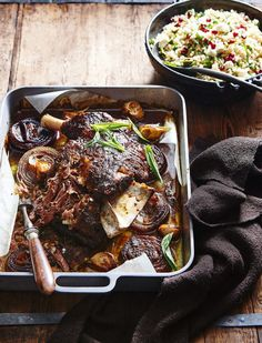 Cooked slow and low, this melt-in-your-mouth lamb dish makes even better sandwiches and salads the next day.