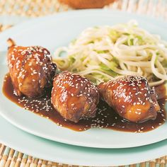 Pilons de poulet, sauce Général Tao Ranch Chicken Recipes, Pesto Chicken, Sauce General Tao, Asian Recipes, Ethnic Recipes, Chicken Drumsticks, Cooking Black Beans, Breast Recipe, Vegetable Dishes