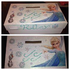 Elsa Frozen Valentine box