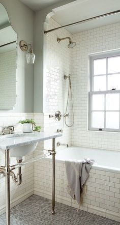 Bathroom renovation ideas / bar - Find and save ideas about bathroom design Ideas on 65 Most Popular Small Bathroom Remodel Ideas on a Budget in 2018 This beautiful look was created with cool colors, marble tile and a change of layout. Bathroom Renos, Bathroom Renovations, Bathroom Interior, Bathroom Ideas, Budget Bathroom, Shower Ideas, Bathroom Designs, Bathtub Ideas, Bathroom Organization