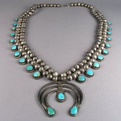 Squash Blossom Necklace c. 1930