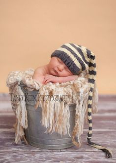 Sweet Baby Hat  Marshmallow Clouds  Newborn to by handmadebyjules, $25.00