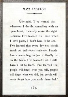 """2' x 3' Book Collection Art Print. White Background Reclaimed Wood Frame Quote: She said, """"I've learned that whenever I decide something with an open heart, I usually make the right decision. I've lea"""